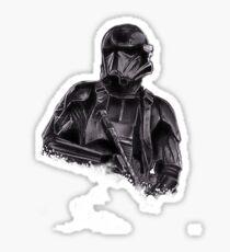 Death trooper Sticker