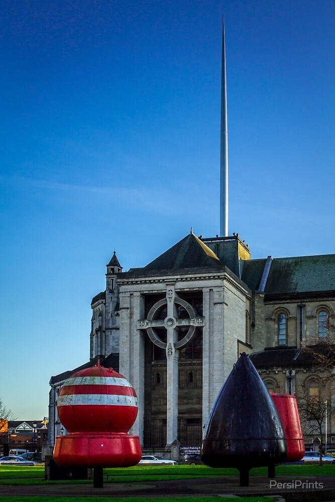 Buoy Park  - Belfast by PersiPrints