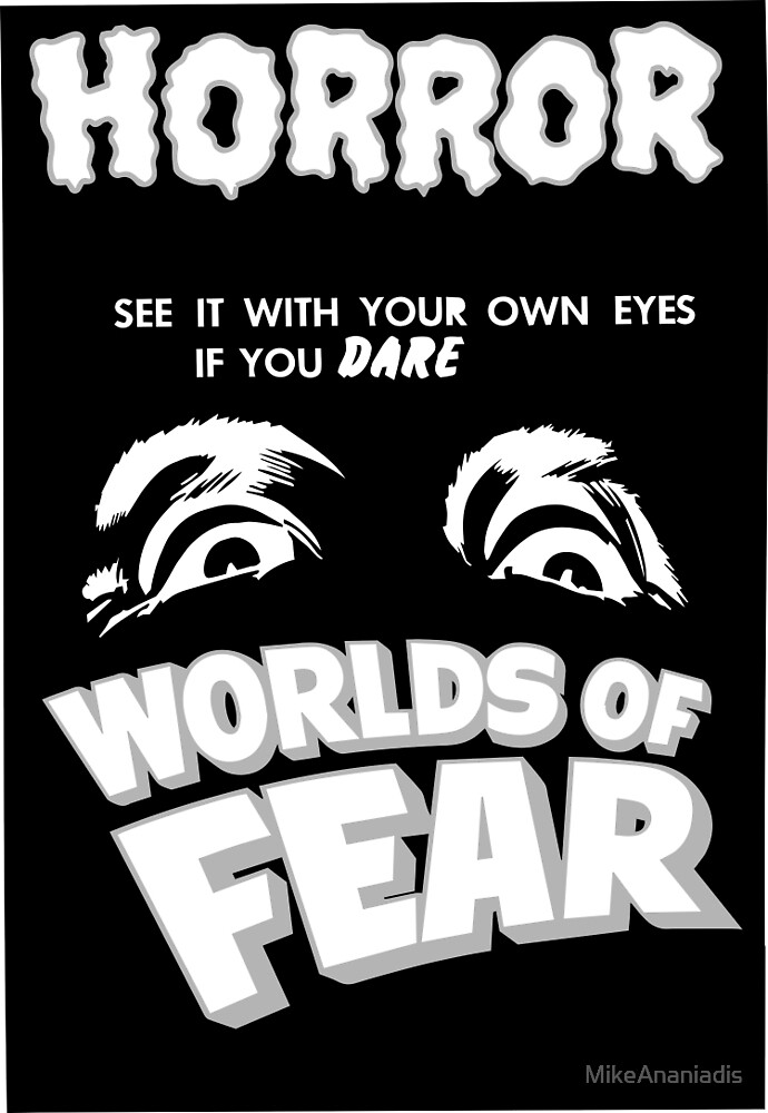Worlds of fear - Horror - by MikeAnaniadis