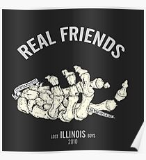 real friends posters redbubble