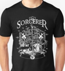 RPG Class Series: Sorcerer - White Version Unisex T-Shirt
