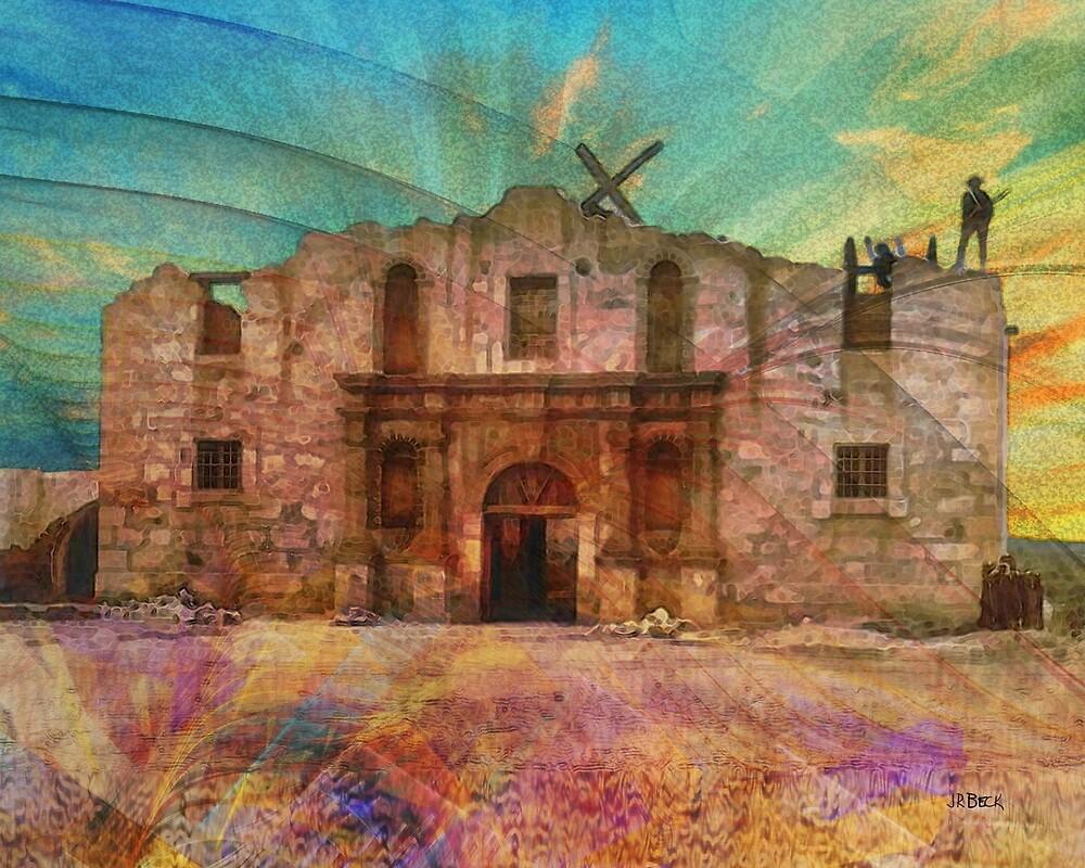 John Wayne's Alamo - By John Robert Beck by studiobprints