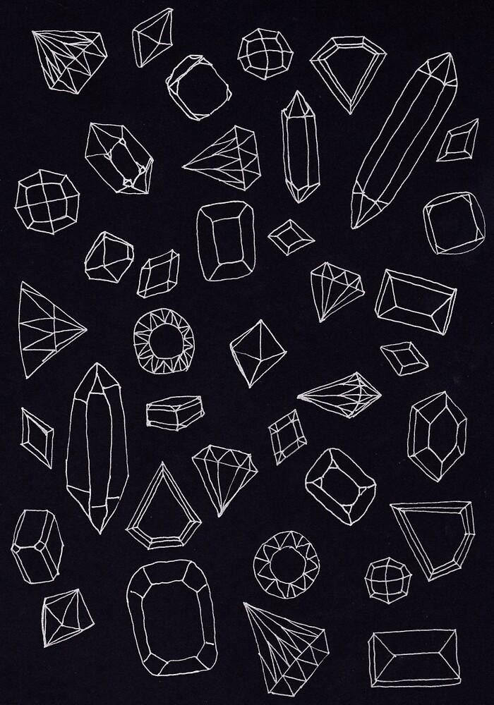 doodle crystals by nuanz
