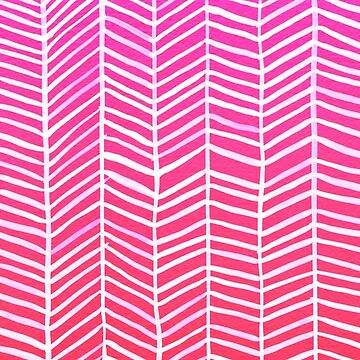 Herringbone – Pink Ombré by catcoq