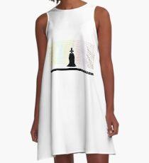 Der Heilige Berg A-Linien Kleid