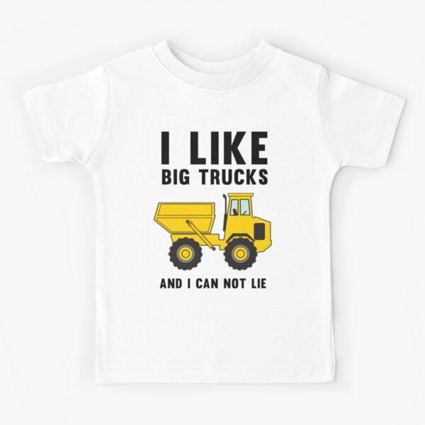 I like big trucks and I can not lie Kids T-Shirt