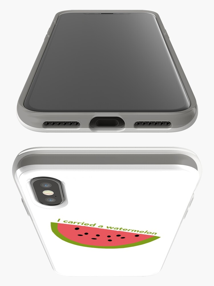 Alternate view of I carried a watermelon - dirty dancing iPhone Case & Cover