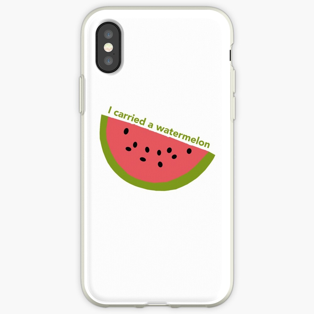 I carried a watermelon - dirty dancing iPhone Case & Cover