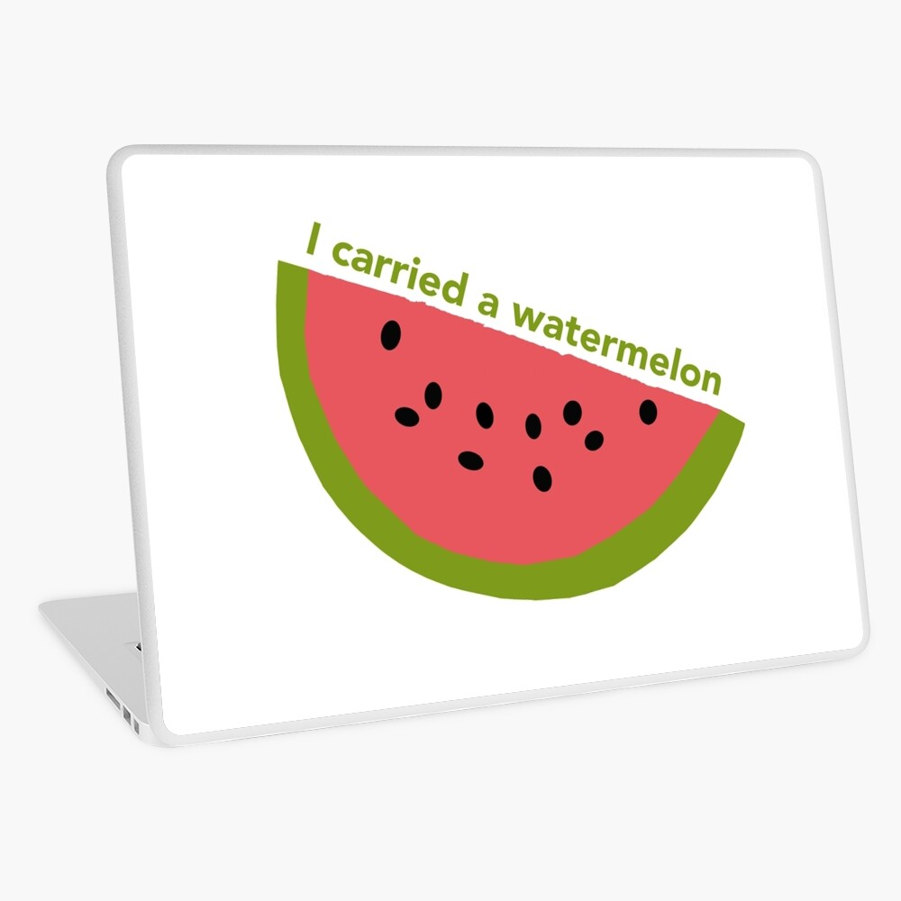 I carried a watermelon - dirty dancing Laptop Skin