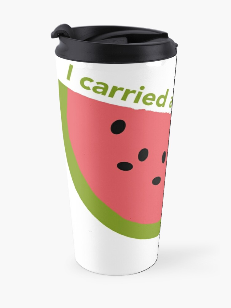 Alternate view of I carried a watermelon - dirty dancing Travel Mug