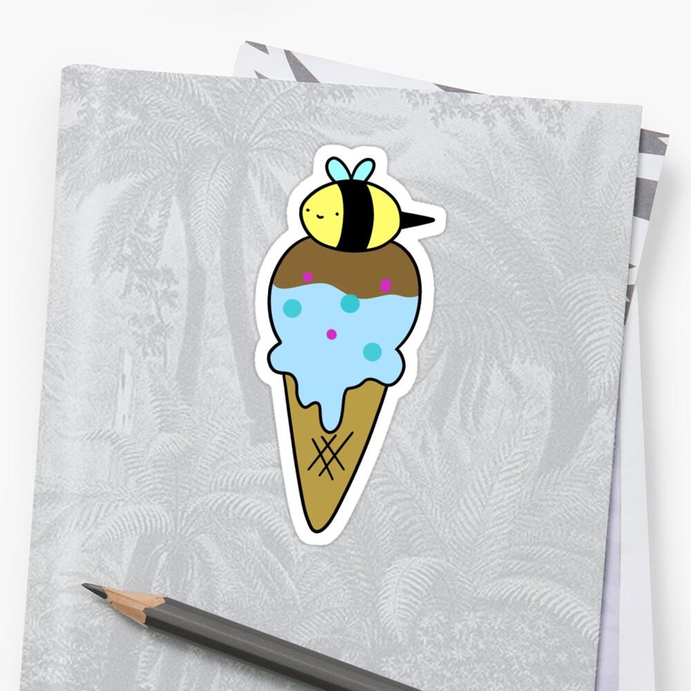 Bumblebee Icecream Cone by SaradaBoru