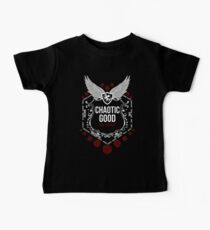 Chaotic Good - Black: Alignment Series Baby Tee
