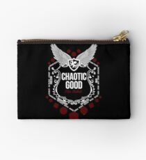 Chaotic Good - Black: Alignment Series Studio Pouch