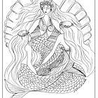 Derceto - #Mermaid Goddess of the Moon by aveela
