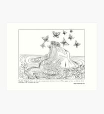 Rusalka - Bulgarian #Mermaid Art Print