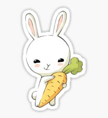 Bunny Carrot 2 Sticker
