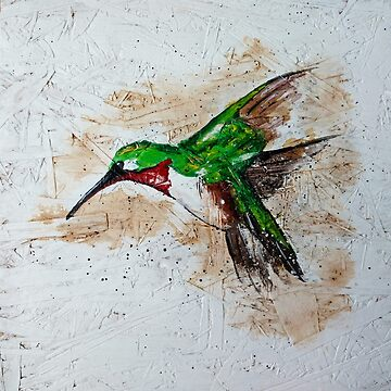 Hummingbird Painting by Ambrosia