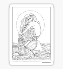 The Little #Mermaid – Denmark Sticker