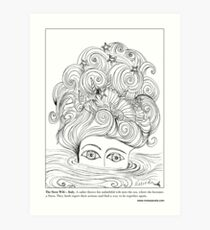 The Siren Wife - Italian #Mermaid Art Print