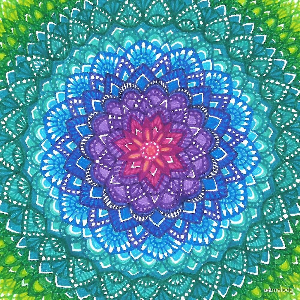Nymphaea Mandala by artmelody