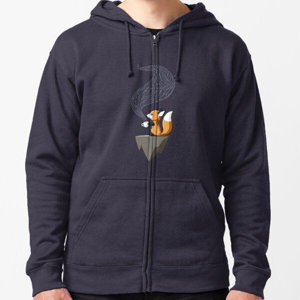 Fox Tea Zipped Hoodie