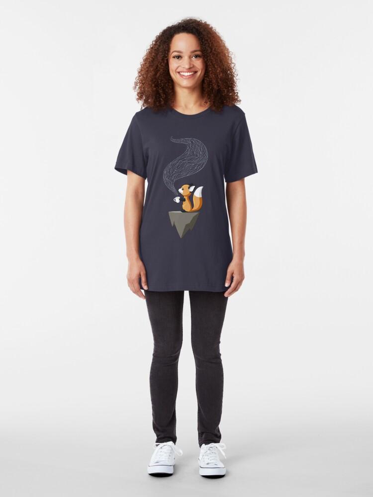 Alternate view of Fox Tea Slim Fit T-Shirt