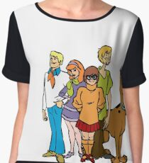 Scooby Gang Chiffon Top