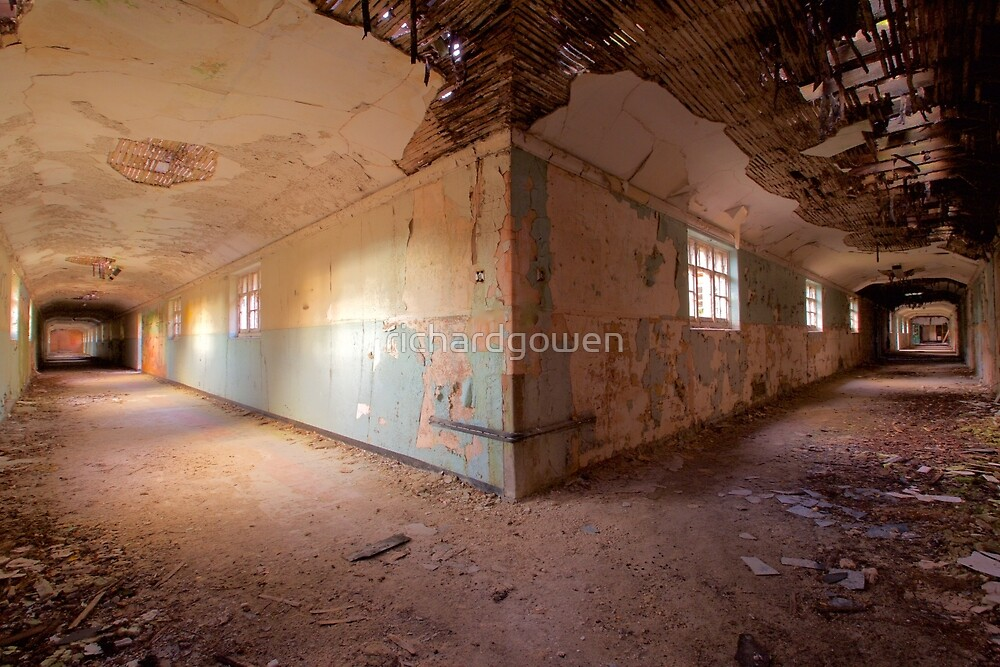Asylum Corridors  by richardgowen