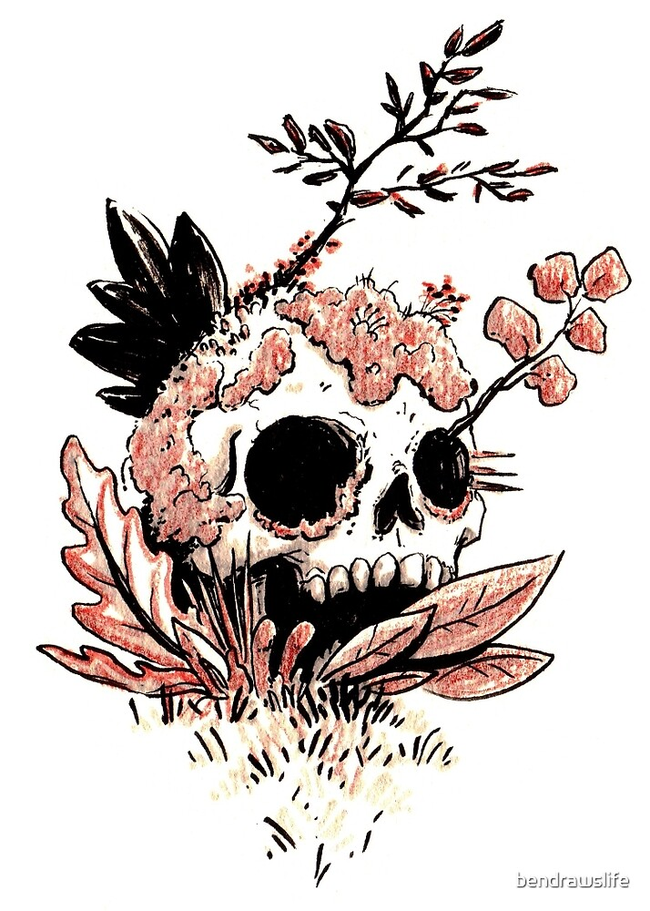 Skull Growth by bendrawslife