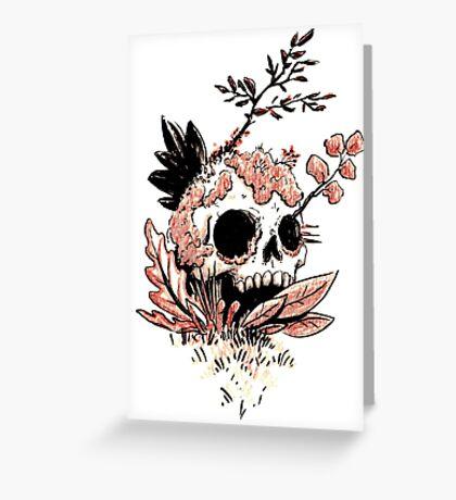 Skull Growth Greeting Card