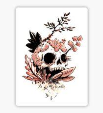 Skull Growth Sticker