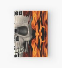 Forged in Fire Skull and Flames Hardcover Journal