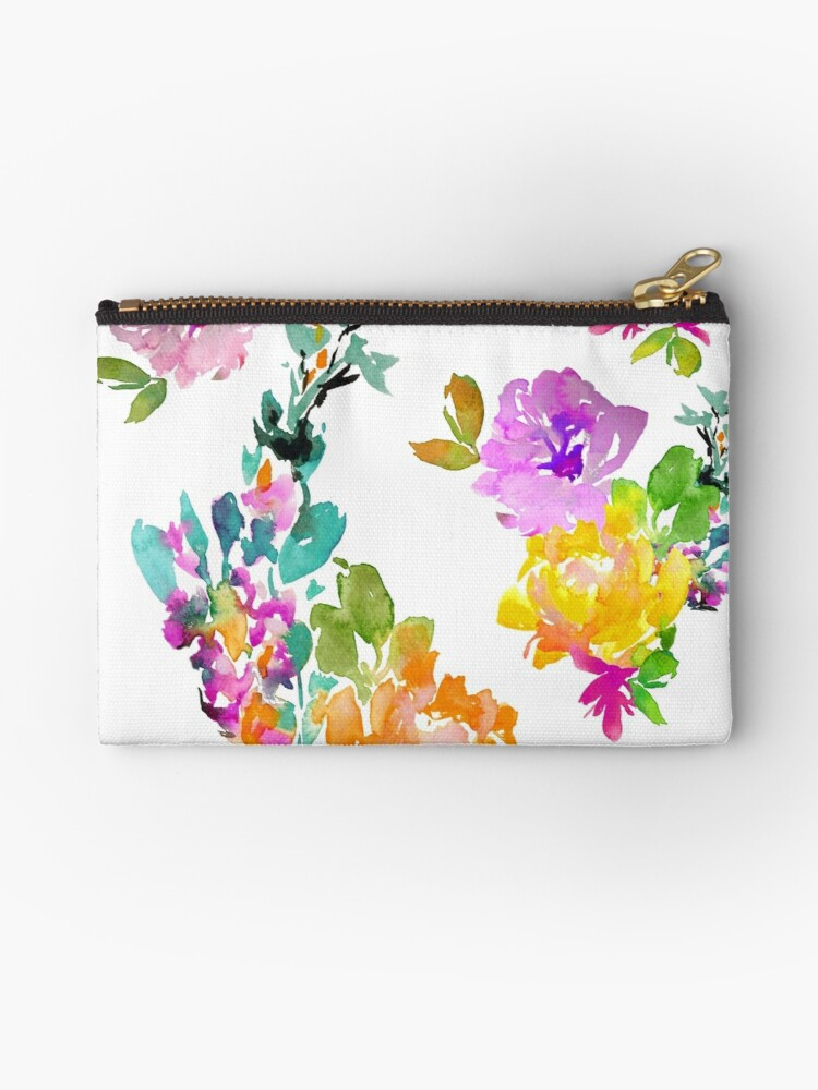 Vibrant Spring Flowers by Amy B