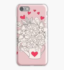 bouquet with love iPhone Case/Skin