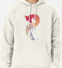Rabbit and a Fox Pullover Hoodie
