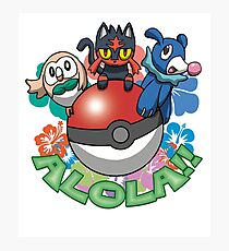Alola! Photographic Print