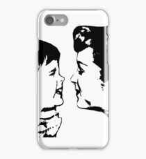 Carrie Fisher & Debbie Reynolds iPhone Case/Skin