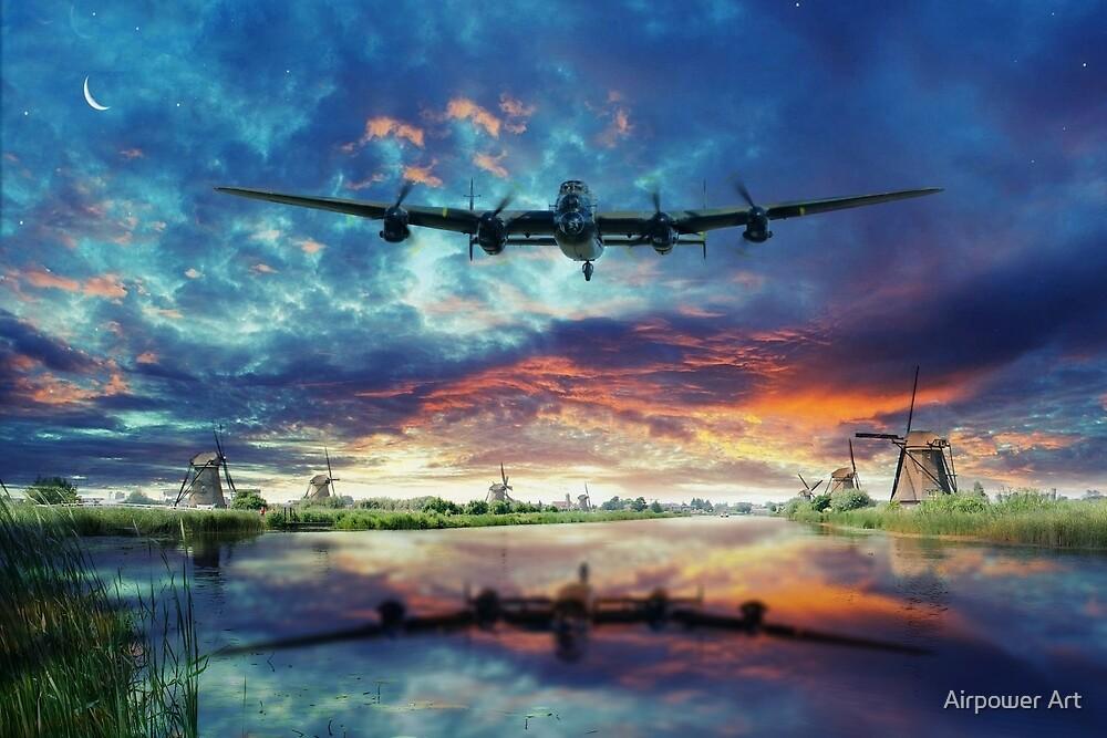 The Dutch Run by Airpower Art