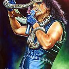 Welcome To My Nightmare - Alice Cooper painting by Star Portraits Soutsos Art