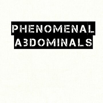 Phenomenal Abdominals  by xkid-official
