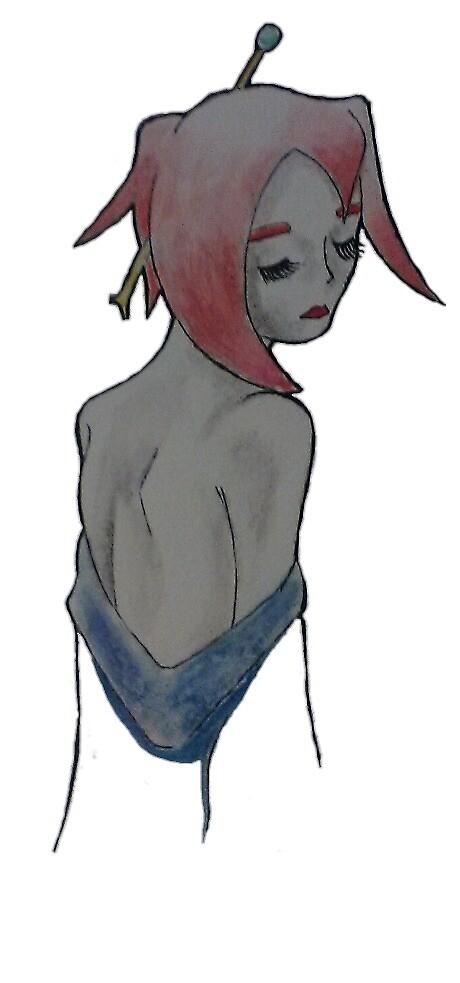 Geisha Girl by Raymond Lowe