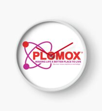 """Plomox"" Antiarrhythmic Medication Logo - As seen on ""Scrubs"" Clock"