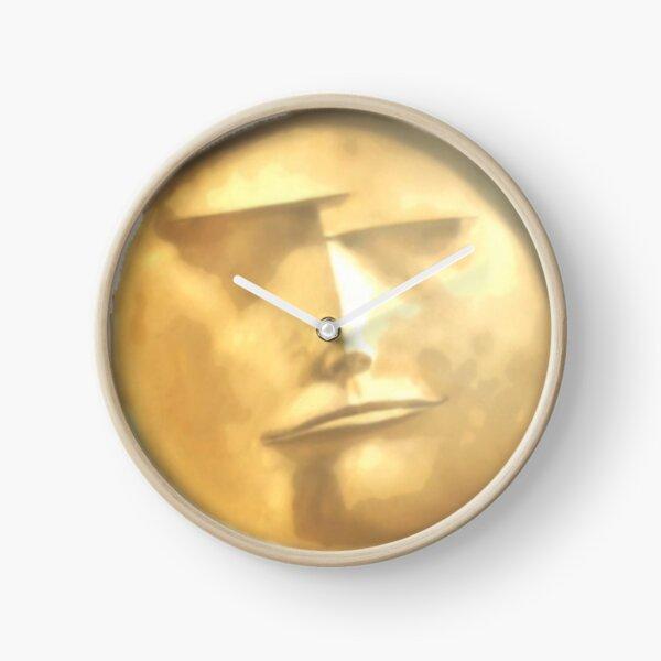 Haikyuu Moon Face Clock