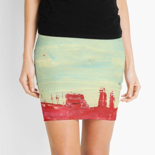 Soft Indie Apocalypse Mini Skirt