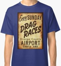 Drag Races Poster Art Classic T-Shirt