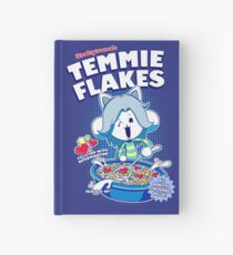 Temmie Flakes! Hardcover Journal