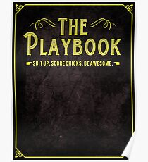 The Playbook - How I met your mother Poster