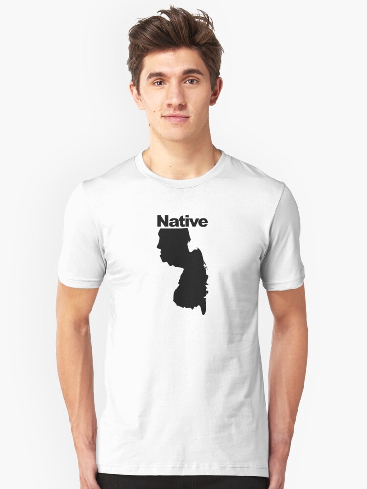 New Jersey Native Unisex T-Shirt Front