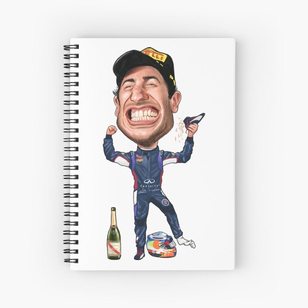 Daniel Ricciardo 2017 Spiral Notebook