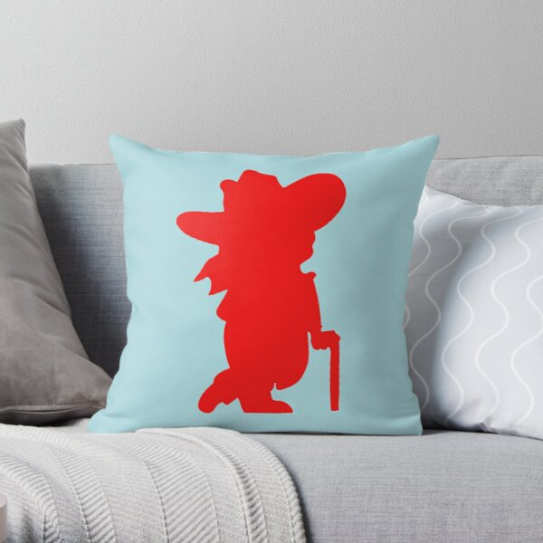 Ole Reb Throw Pillow